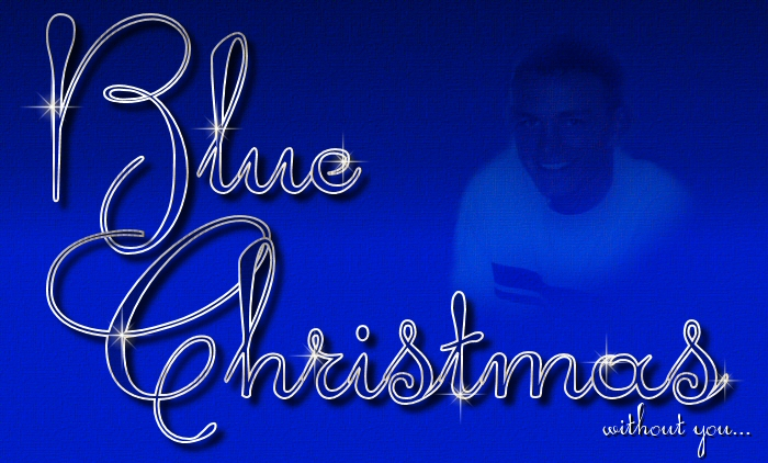 ill have a blue christmas without you ill be so blue thinking about you decorations of red on a green christmas tree - I Ll Have A Blue Christmas